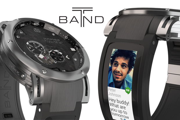 Kairos T-band Smartwatch: Best of analog-digital | Indiegogo