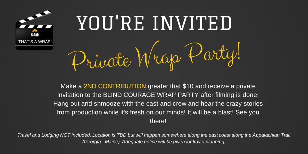 it works wrap party invite