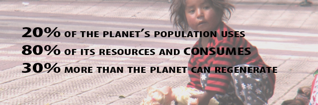 20% of the planet's population
