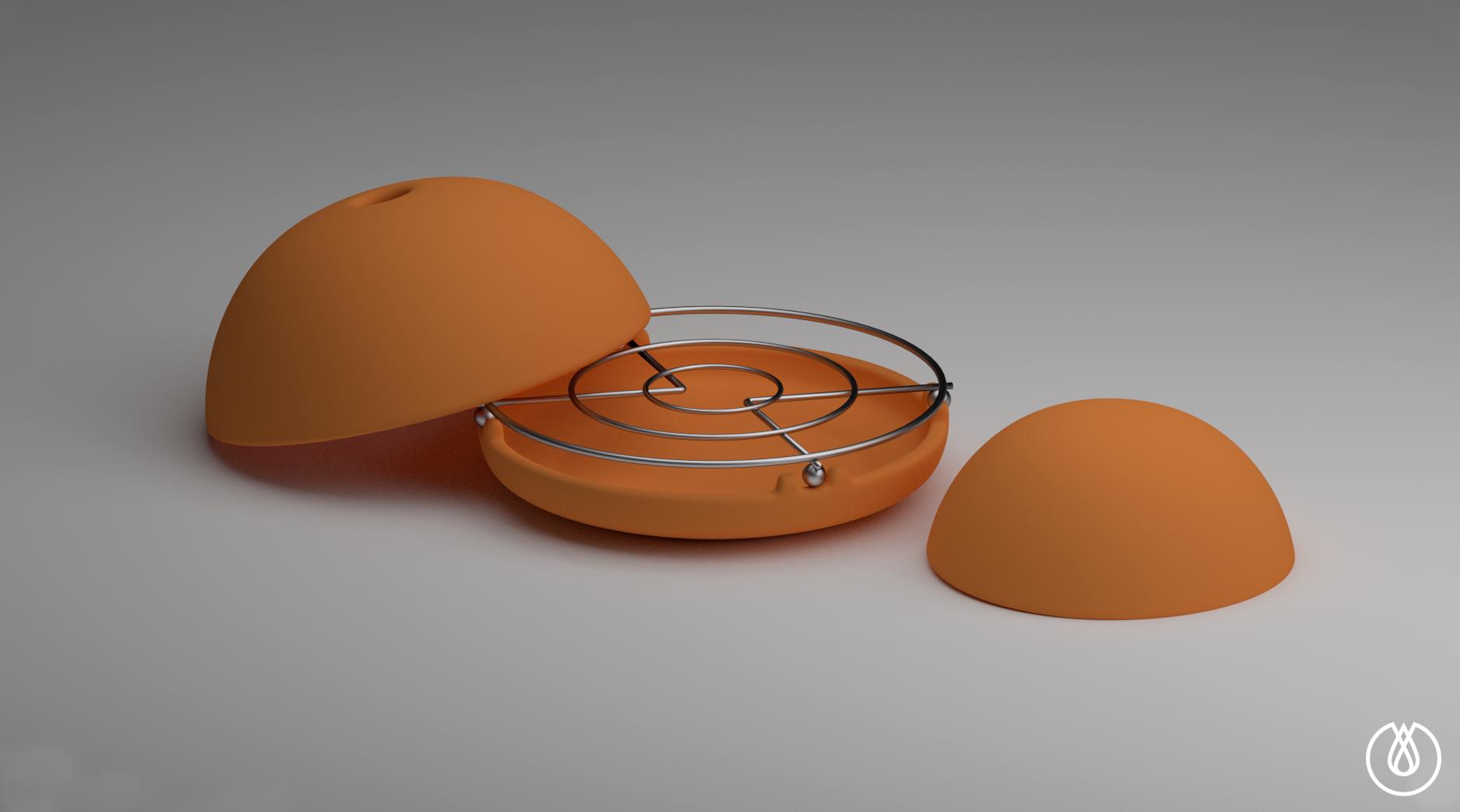 Egloo Candle Powered Heater Indiegogo