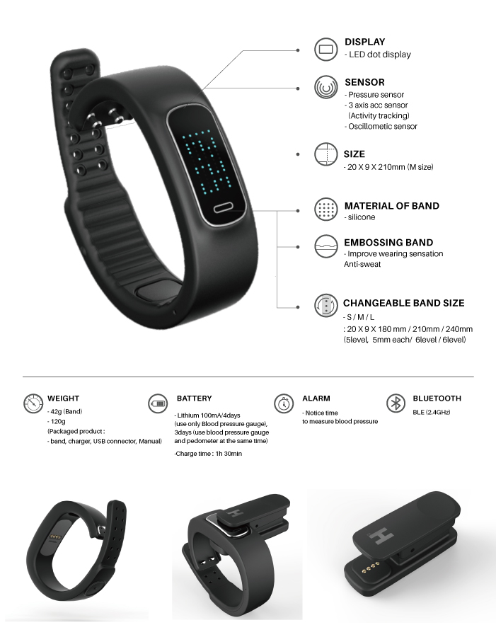 touch with band heart watches product screen bracelet rate vs detail watch blood smart wearfit pressure monitor