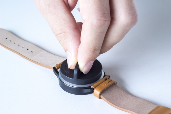 how to replace battery on smart health watch