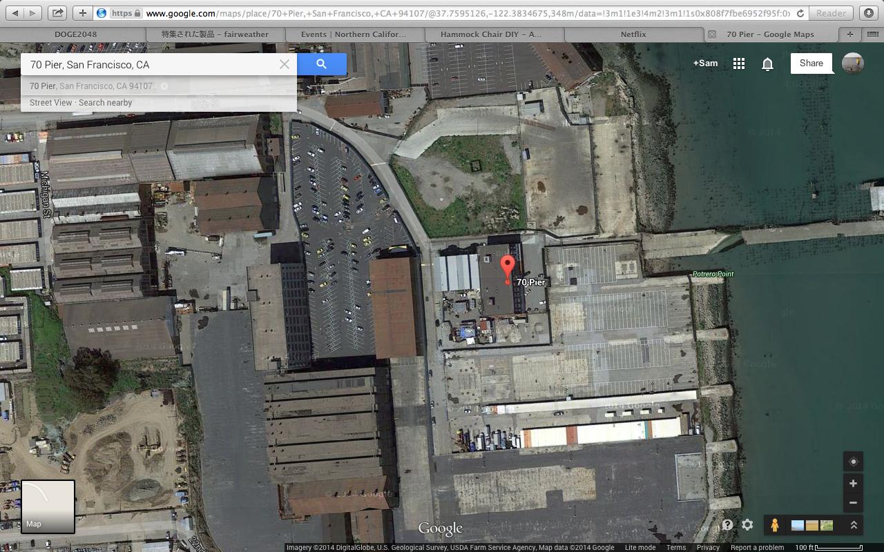 Pier 70 San Francisco Map.Ladies Army 7 Indiegogo