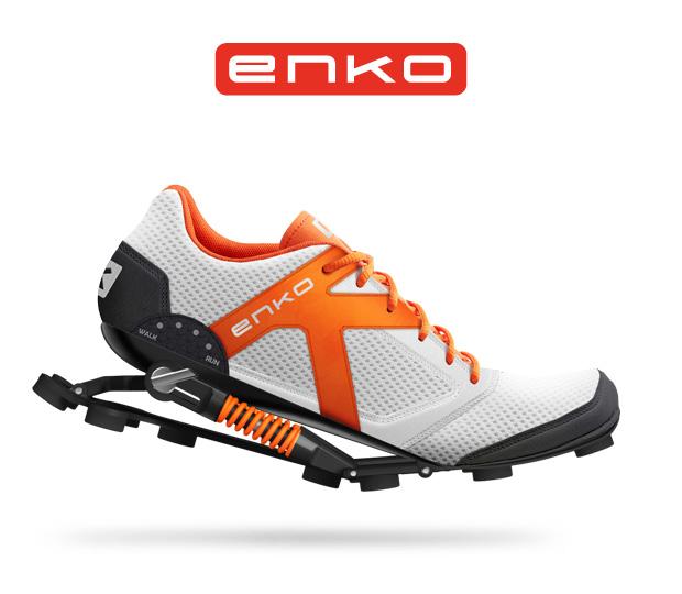 ENKO Running Shoe - Comfort and Power