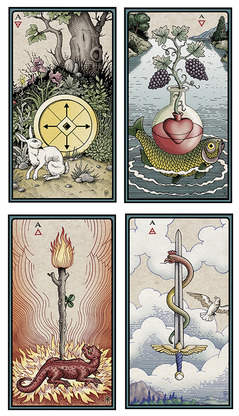 The Alchemical Tarot: Renewed Four