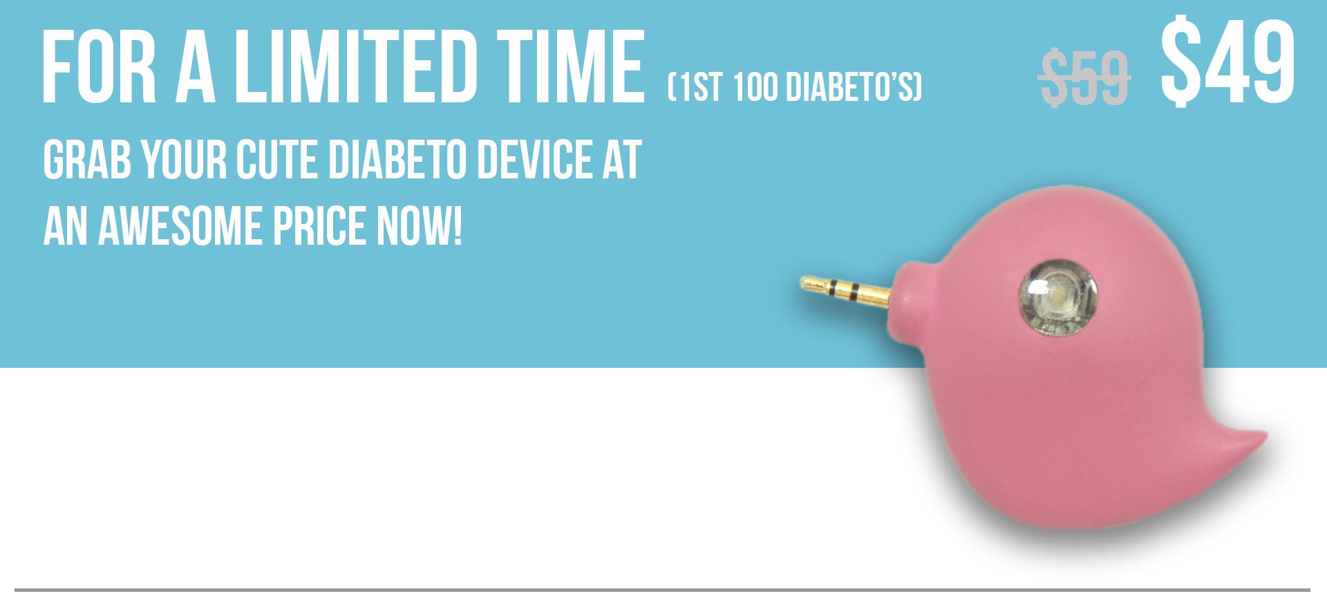 Diabeto - Your friend in Diabetes! | Indiegogo