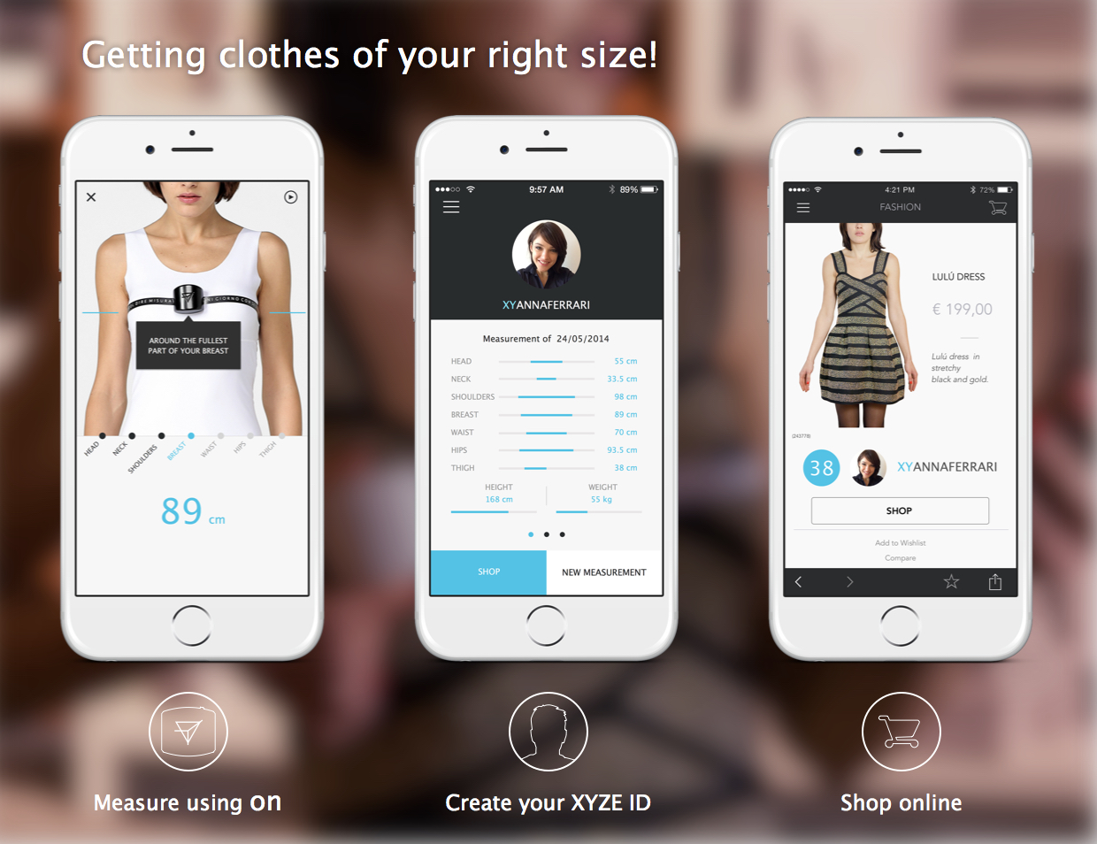 on smart measuring tape to shop fashion online indiegogo