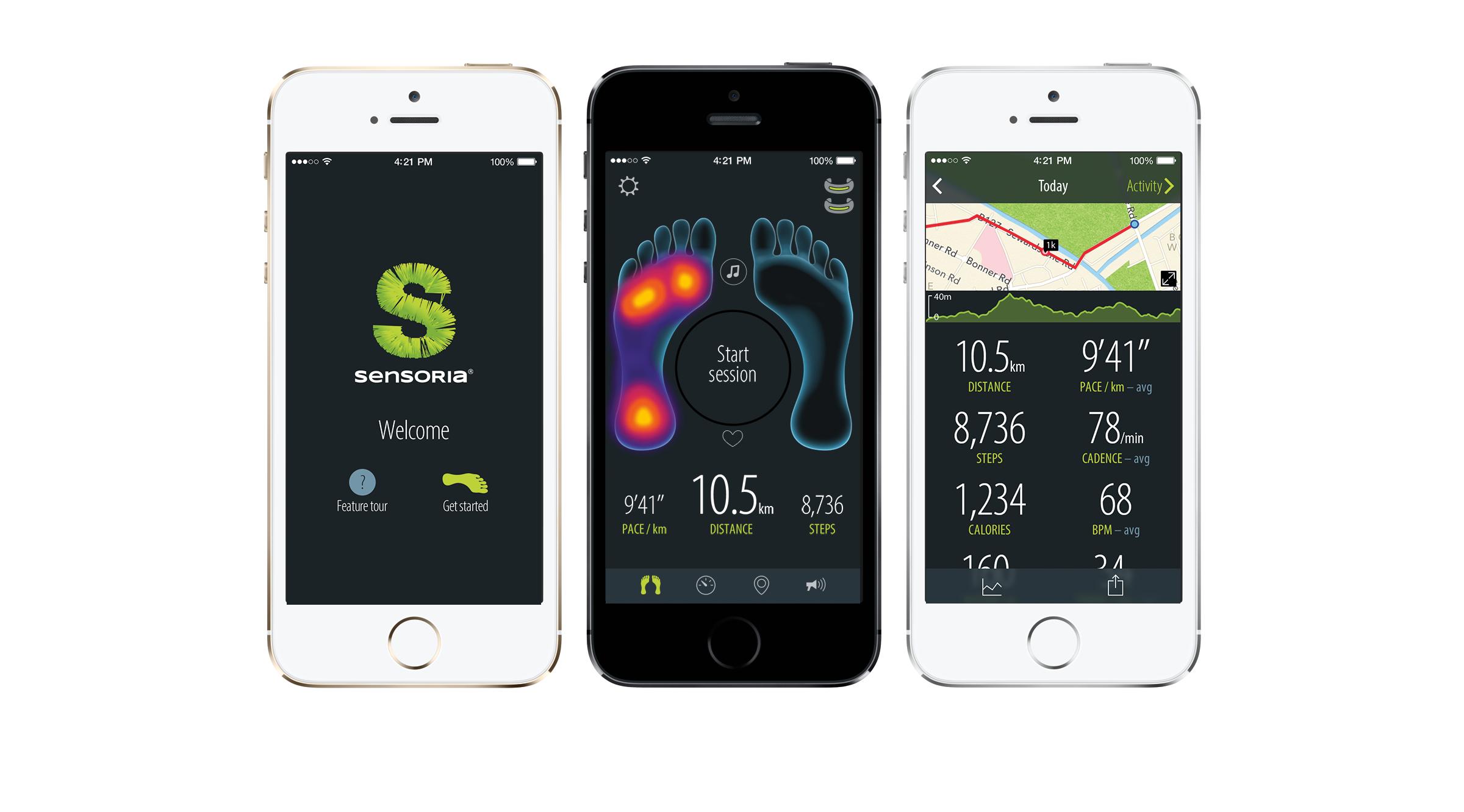 Sensoria Smart Sock Fitness Tracker