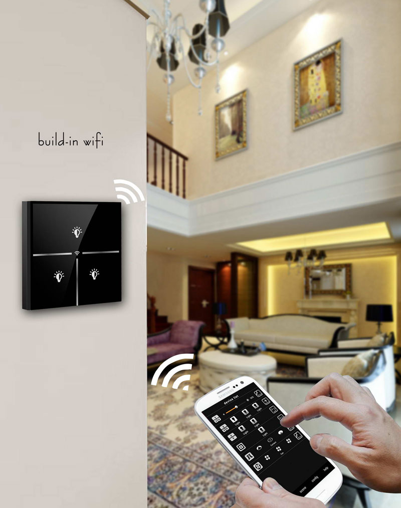 the smartest switch ever only need a smartphone indiegogo