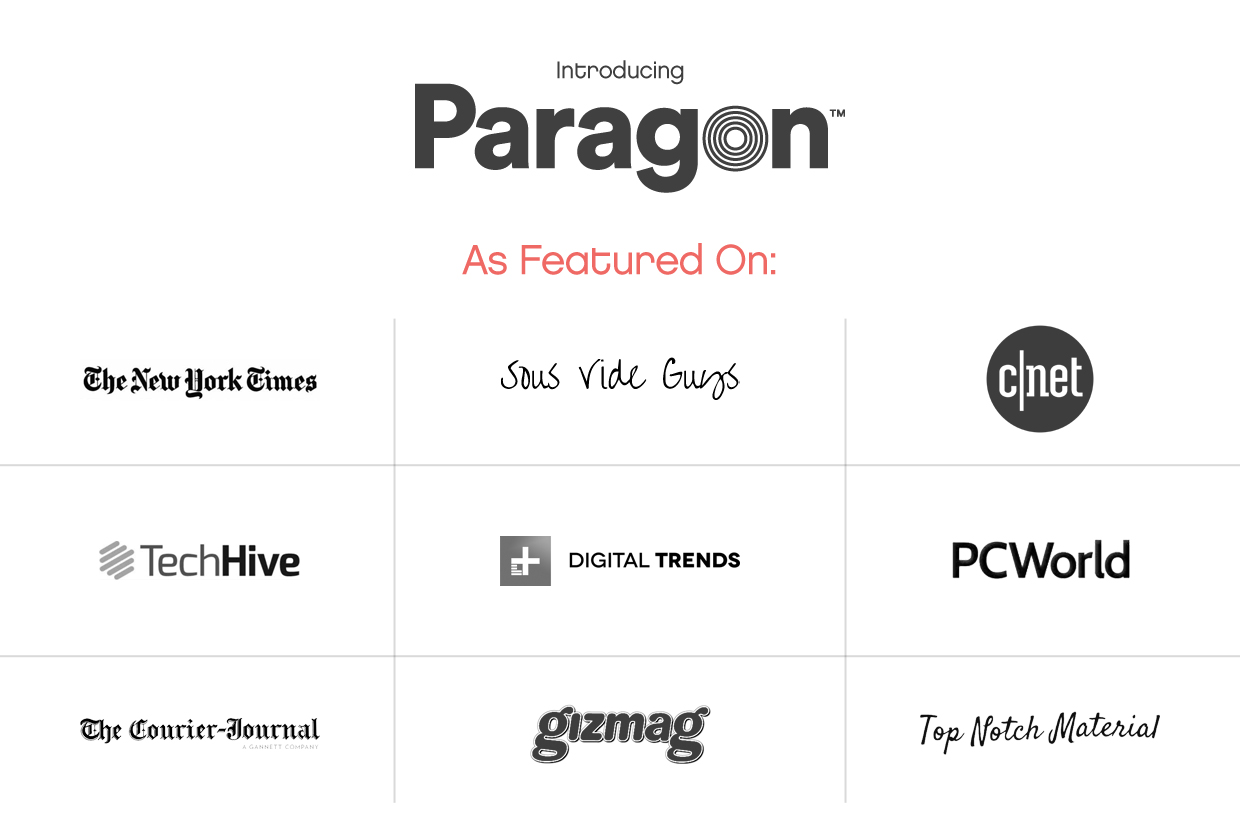 paragon induction cooktop indiegogo rh indiegogo com now we are the paragon guide youtube now we are the paragon achievement