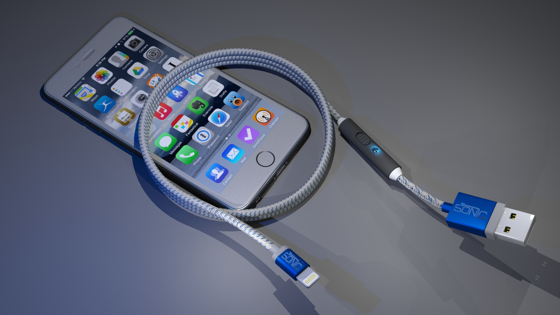 Sonicablethe Worlds Most Advanced Charging Cable Indiegogo Iphone 5 Charger Wire Diagram