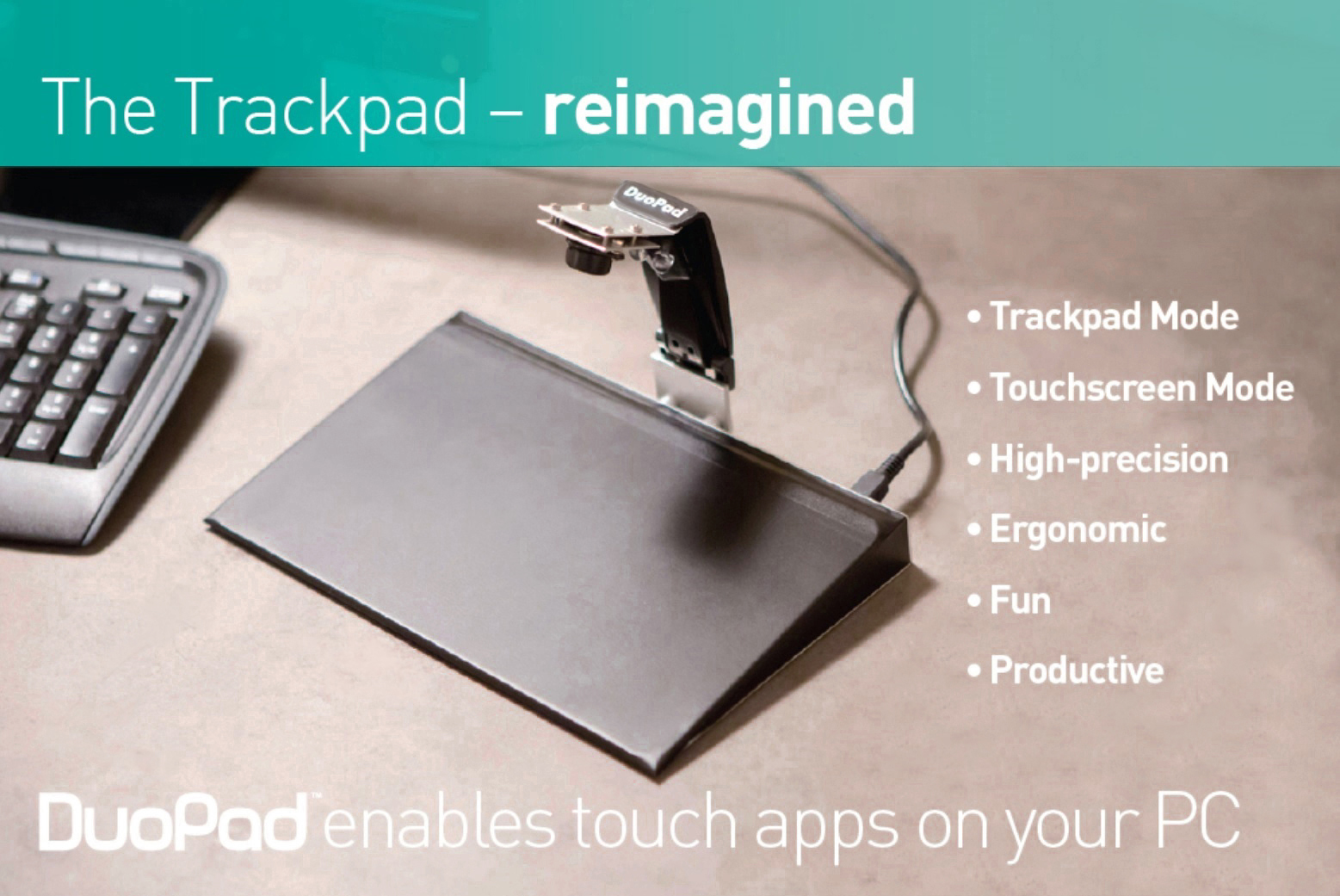 DuoPad: The Next Gen Trackpad | Indiegogo