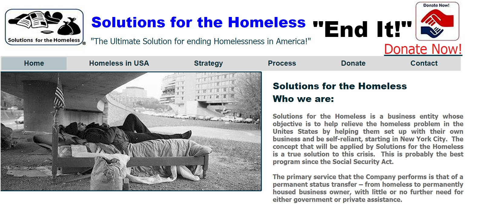 New Solution For Homelessness In >> Solutions For The Homeless Indiegogo