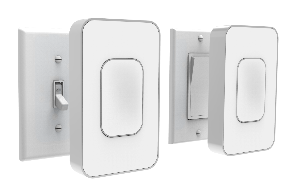 Buy Switchmate NOW with FREE Shipping at: http://www.switchmatehome. Pare S  On Smartphone Controlled Light Switches