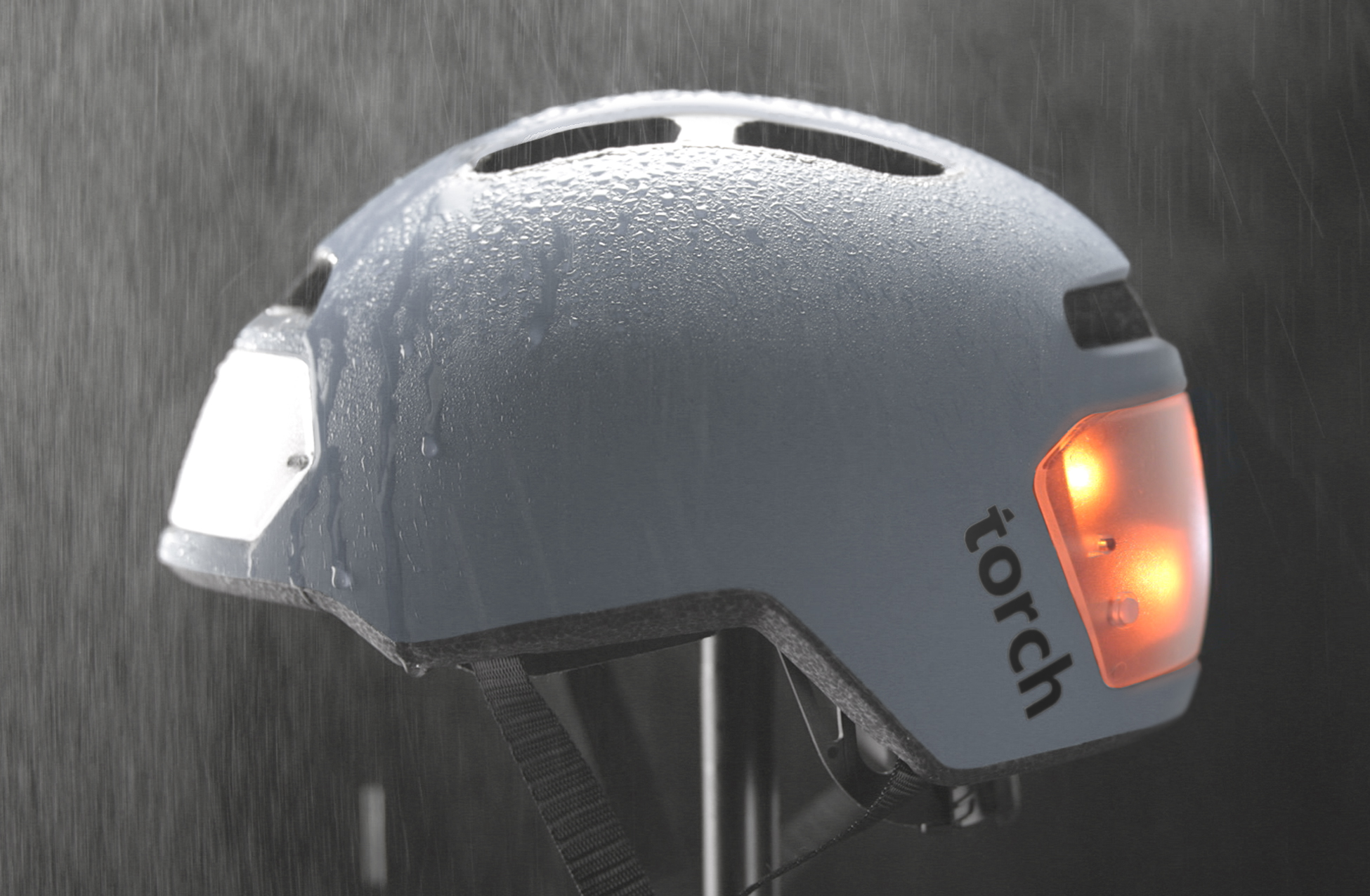 Torch T2 Bike Helmet With Integrated Lights Indiegogo