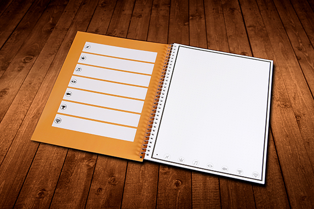 Rocketbook Cloud-based Microwaveable Notebook