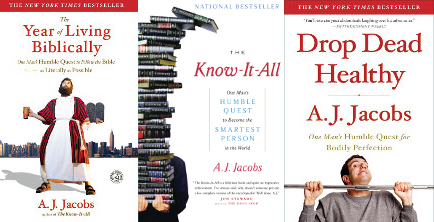 an overview of the novel the year of living biblicaly by a j jacobs Shaken by the death of his best friend, a film critic and expectant father decides to live his life strictly according to the holy bible, with the help of a god squad of advisers based on the book the year of living biblically by aj jacobs.