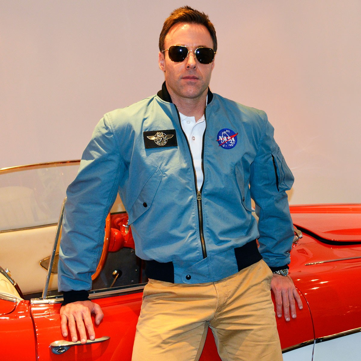 apollo era flight jacket - photo #1