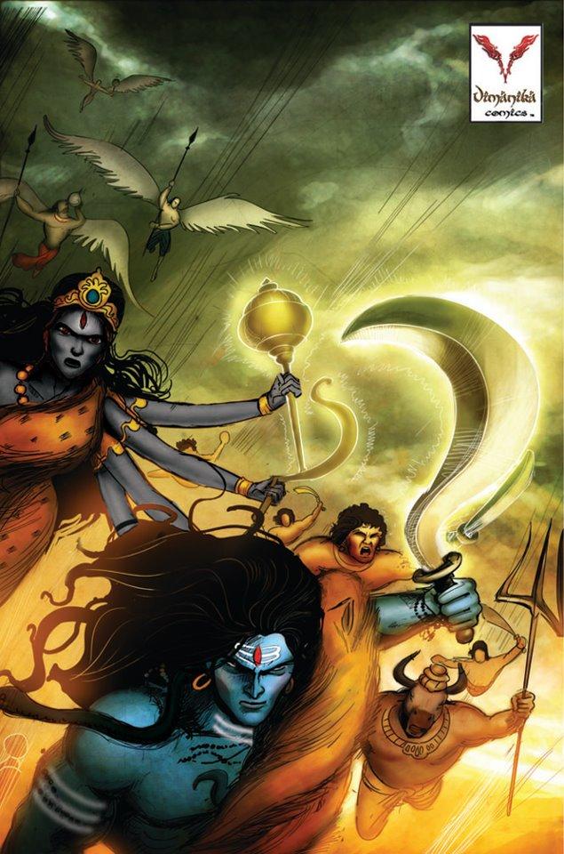 Save Indian Comics Now! GO VIMANIKA!
