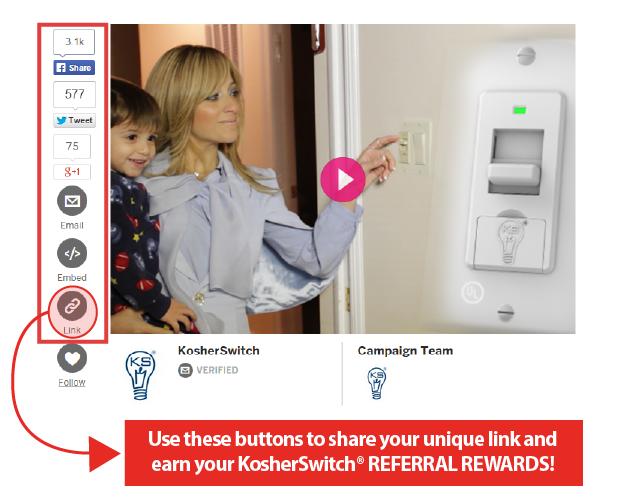 Kosherswitch Control Electricity On Shabbat Indiegogo