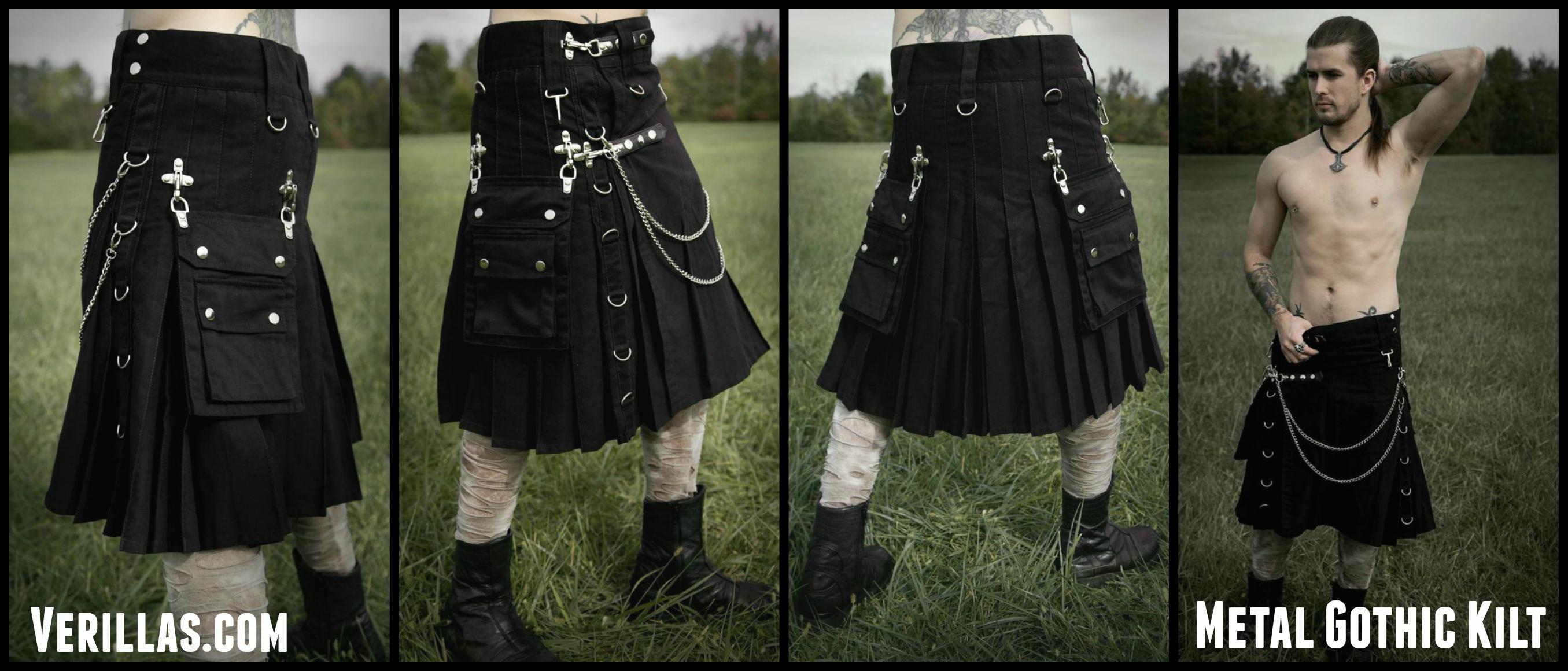 Black steampunk boots