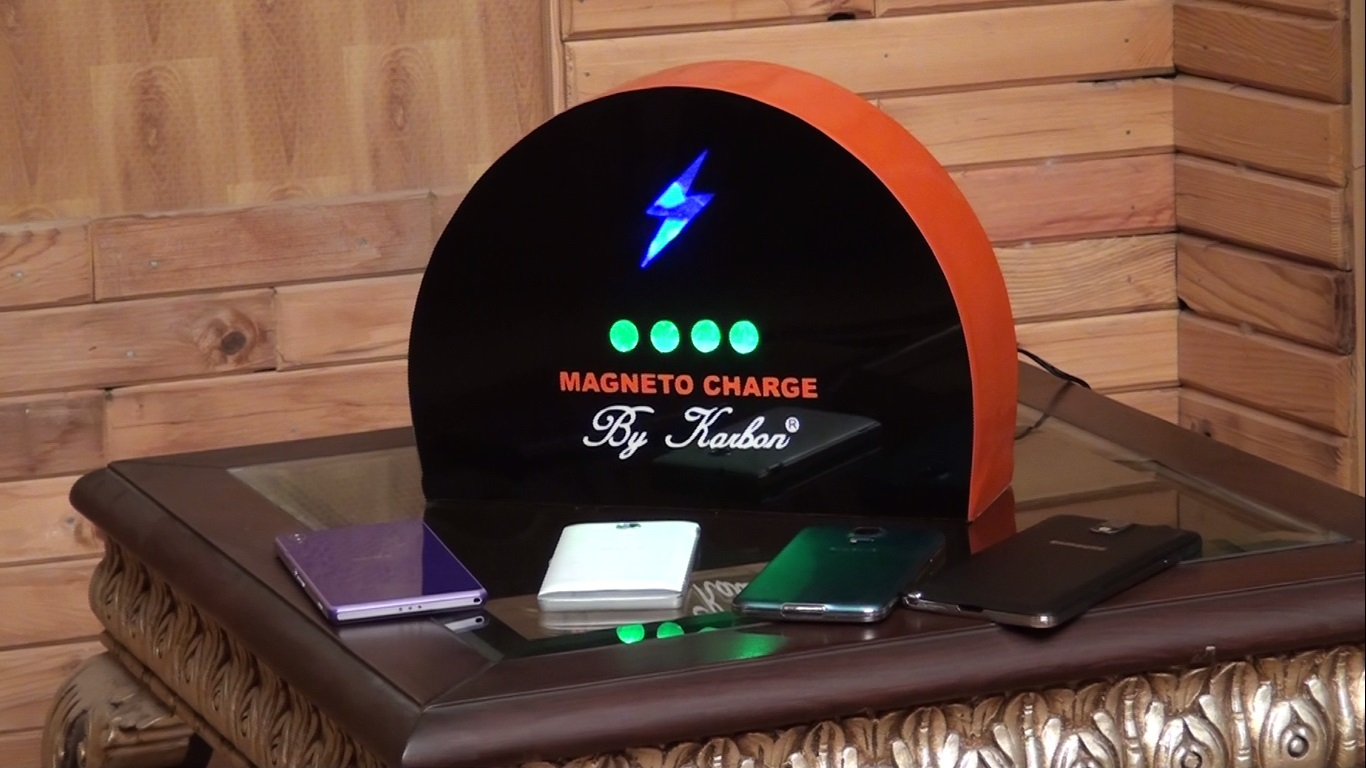 Magneto Charge Contact Less Charging For Devices Indiegogo - Clever magnetic wall clock charges phone wirelessly