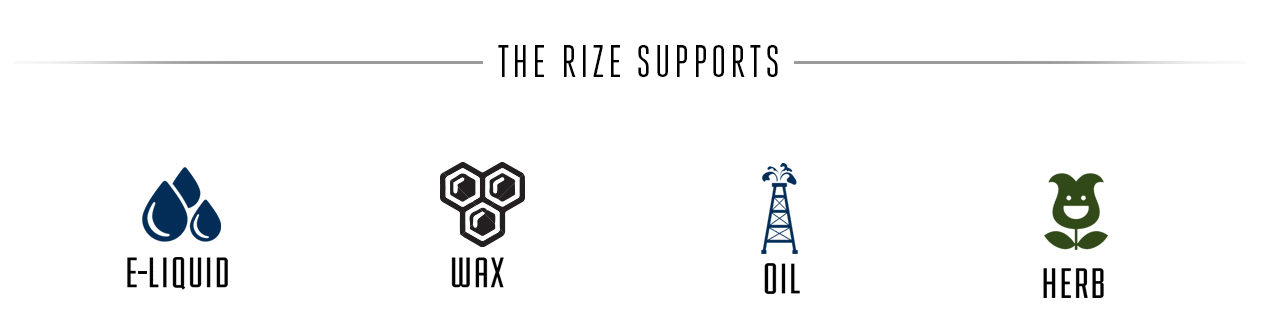 Rize by Lifted Industry -wax oil herb eliquid