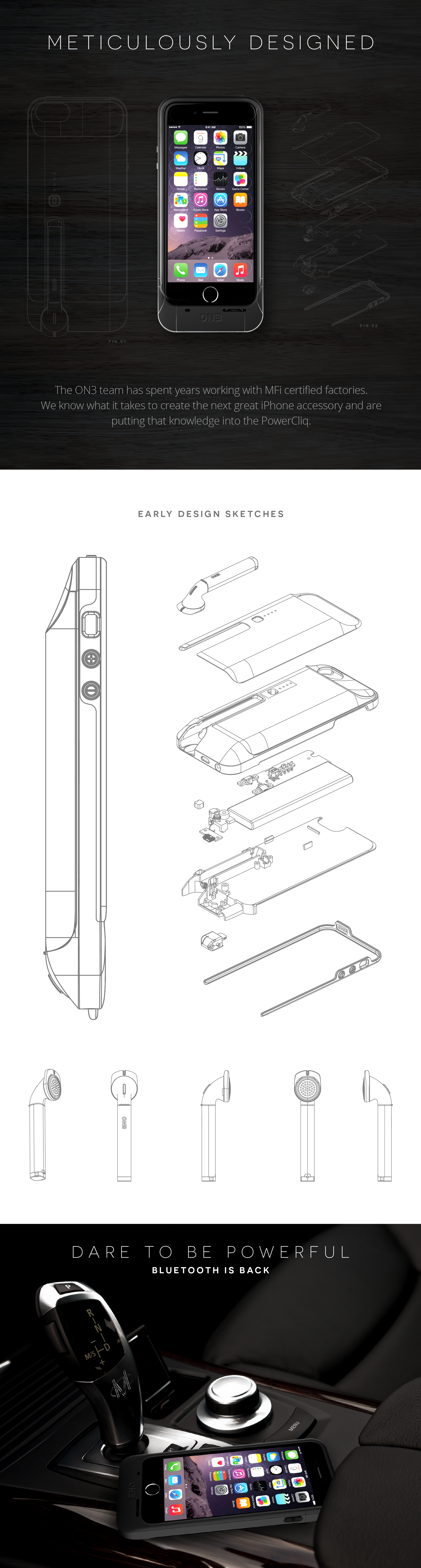 Powercliq The Next Great Iphone Case Indiegogo Schematics And Sketches Intelligent Fencing Systems Frequently Asked Questions
