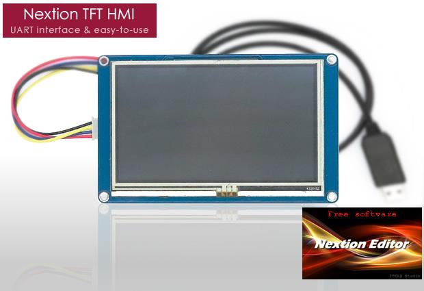 Nextion: a cost-effective high-performance TFT HMI | ROBO 3D