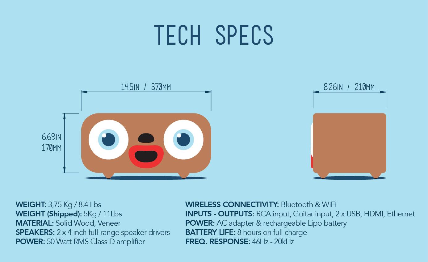 MiniMe: world\'s best designed wooden boombox! | Indiegogo