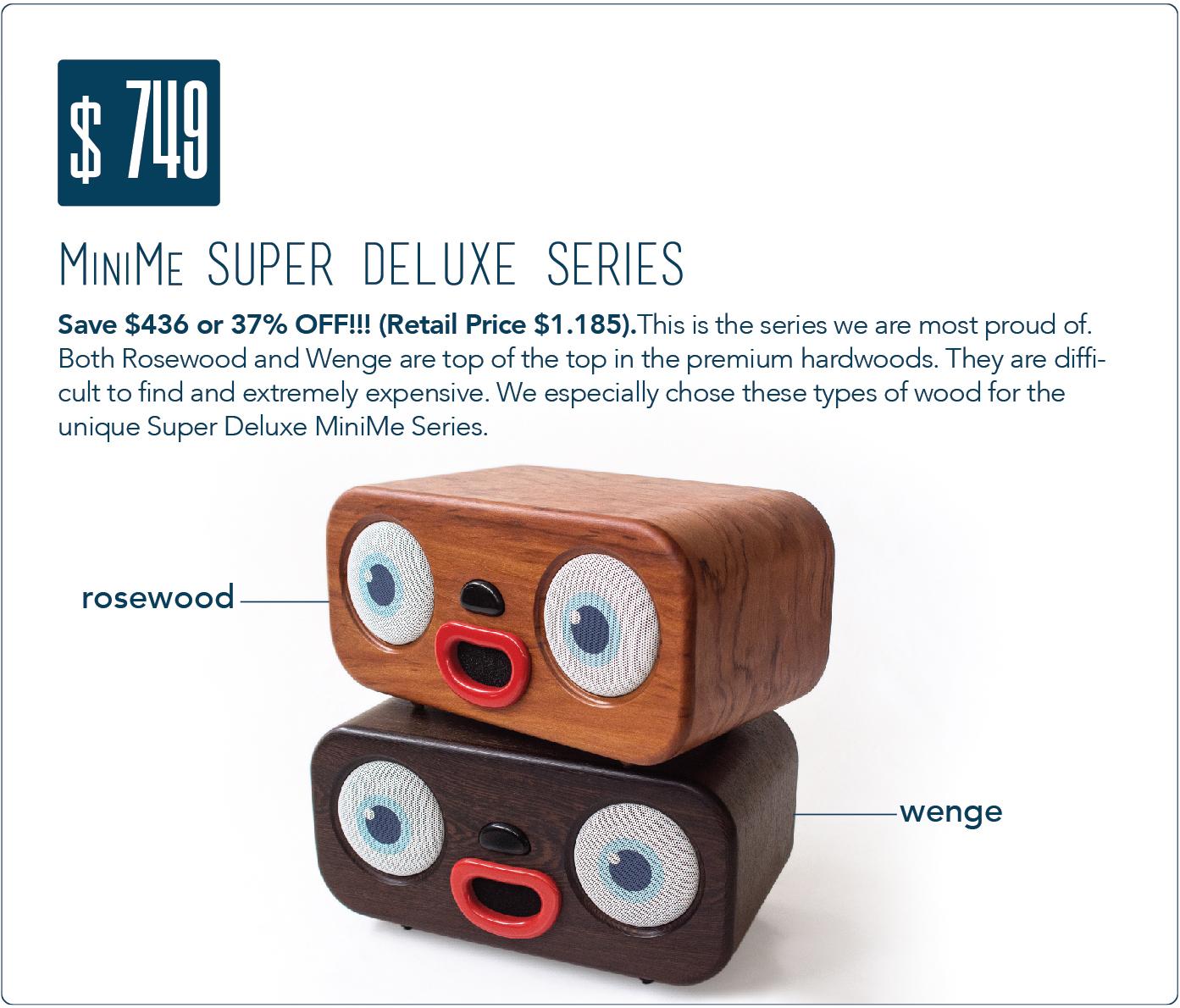 MiniMe  world s best designed wooden boombox!  46daa61e6d1