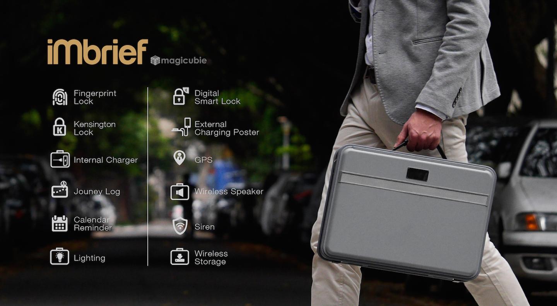 iMbrief:台灣軟硬整合的公事包,除了技術更定位時尚精品!indiegogo群募中