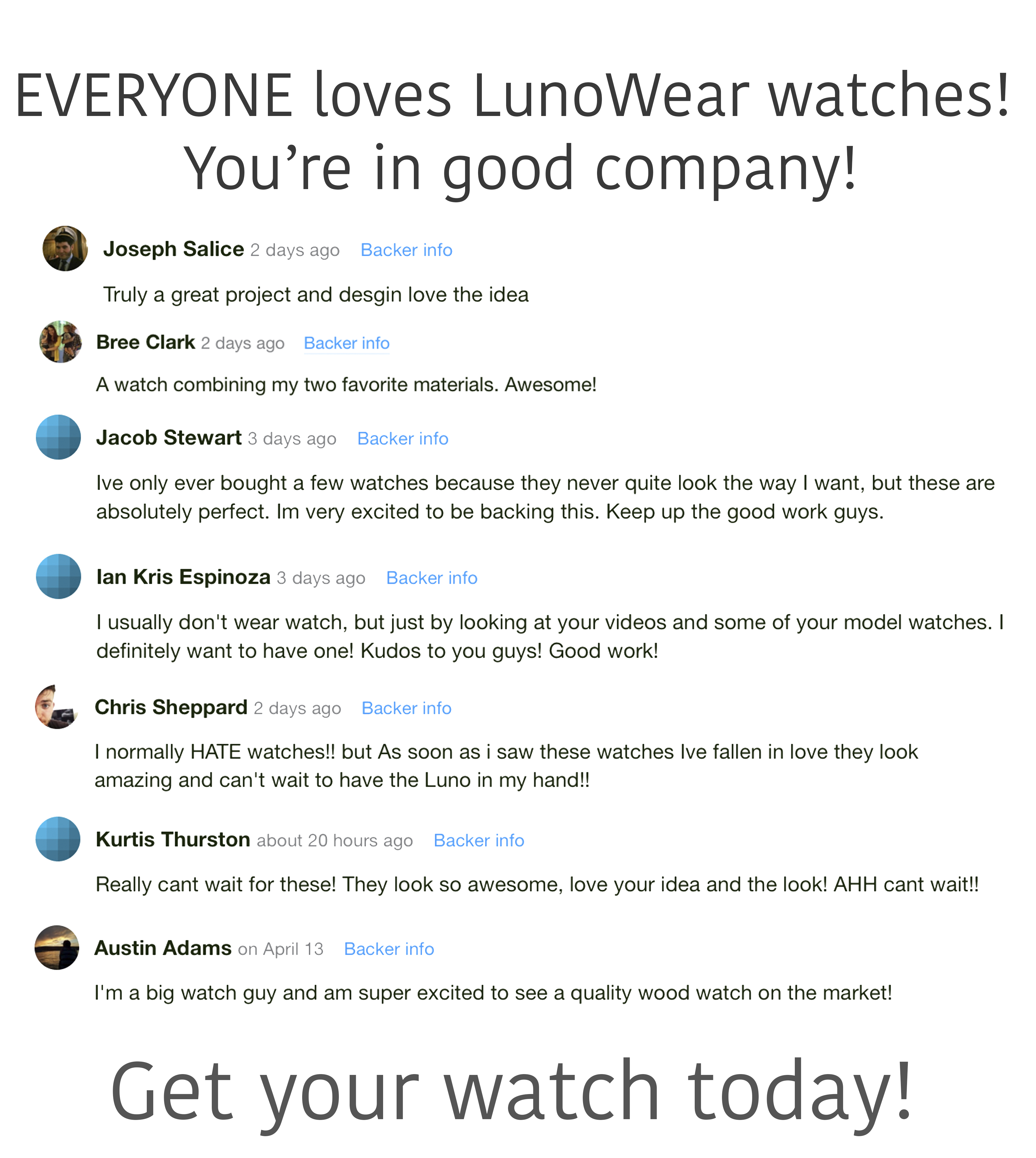 All Natural Wood And Leather Watches | Indiegogo