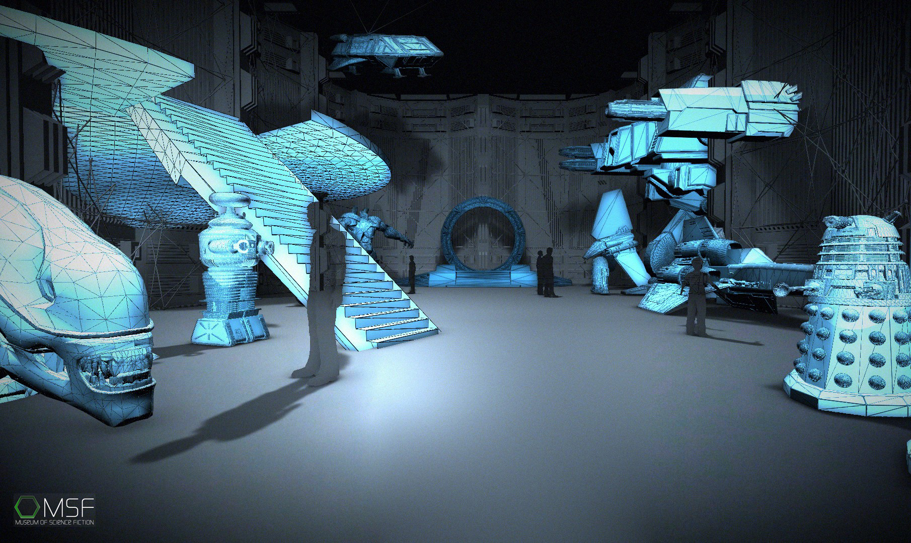 Could You Be the Next Geek Exhibit Designer for the Museum of Science Fiction?
