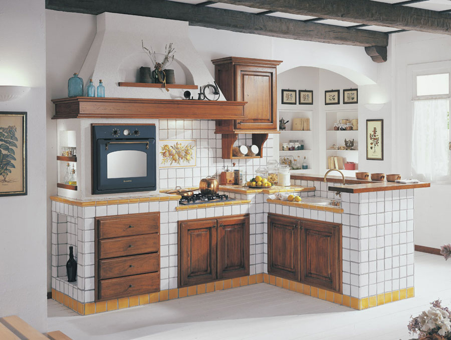 Beautiful Cucina In Muratura Costo Contemporary - Design & Ideas ...