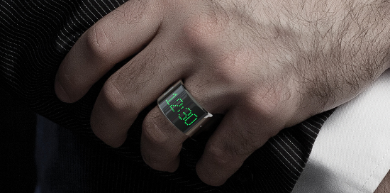 Clock at your finger tips