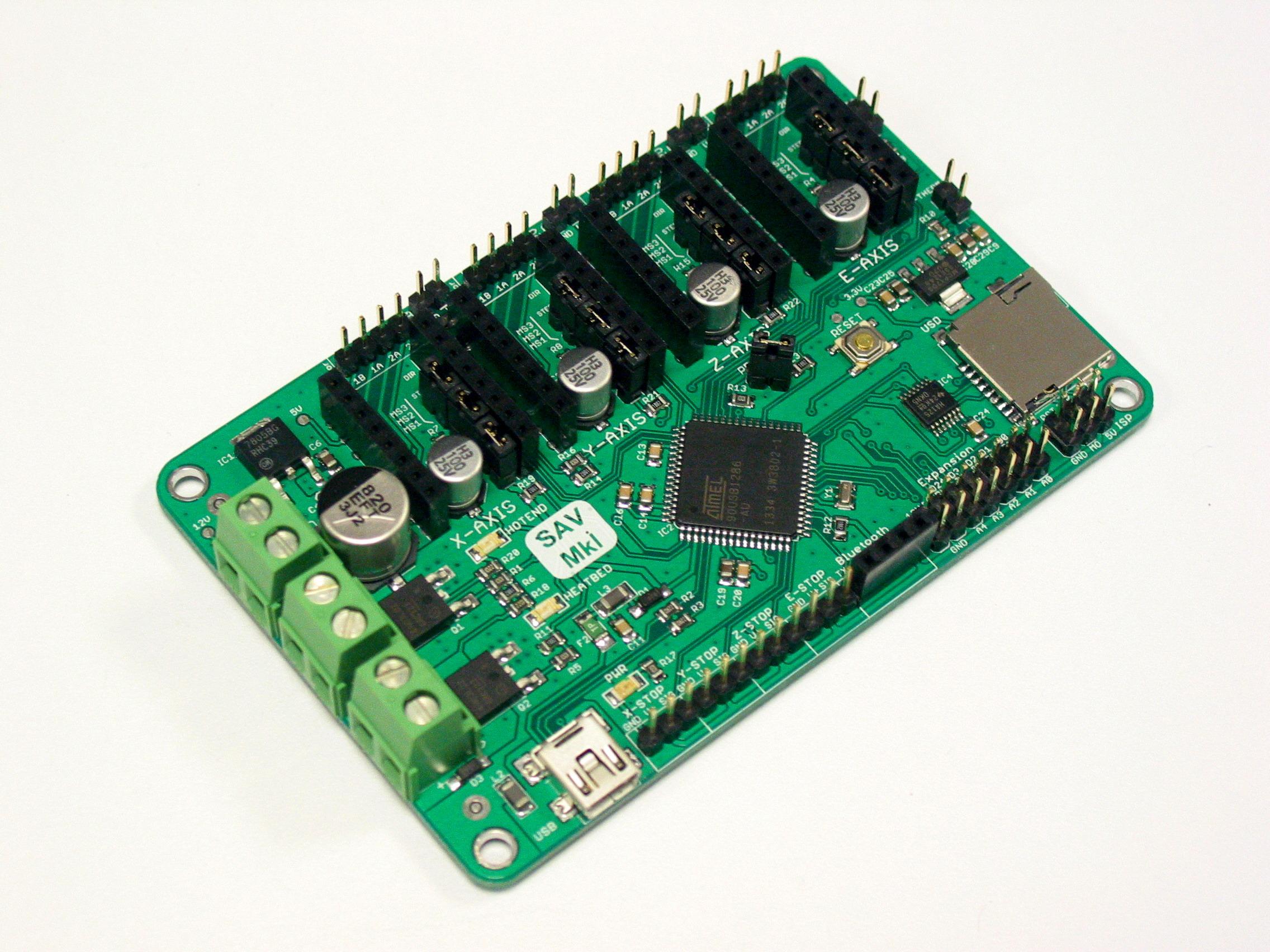 Sav Mki 3d Printer Electronics Indiegogo Electric Circuit Board Processor Tshirt