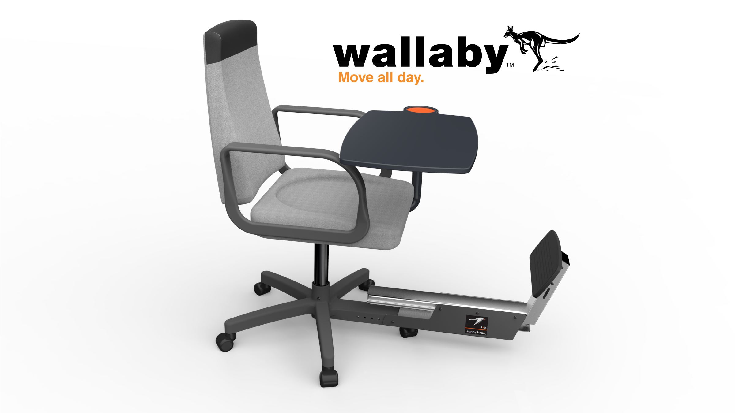 The Wallaby Chair for Strong Legs