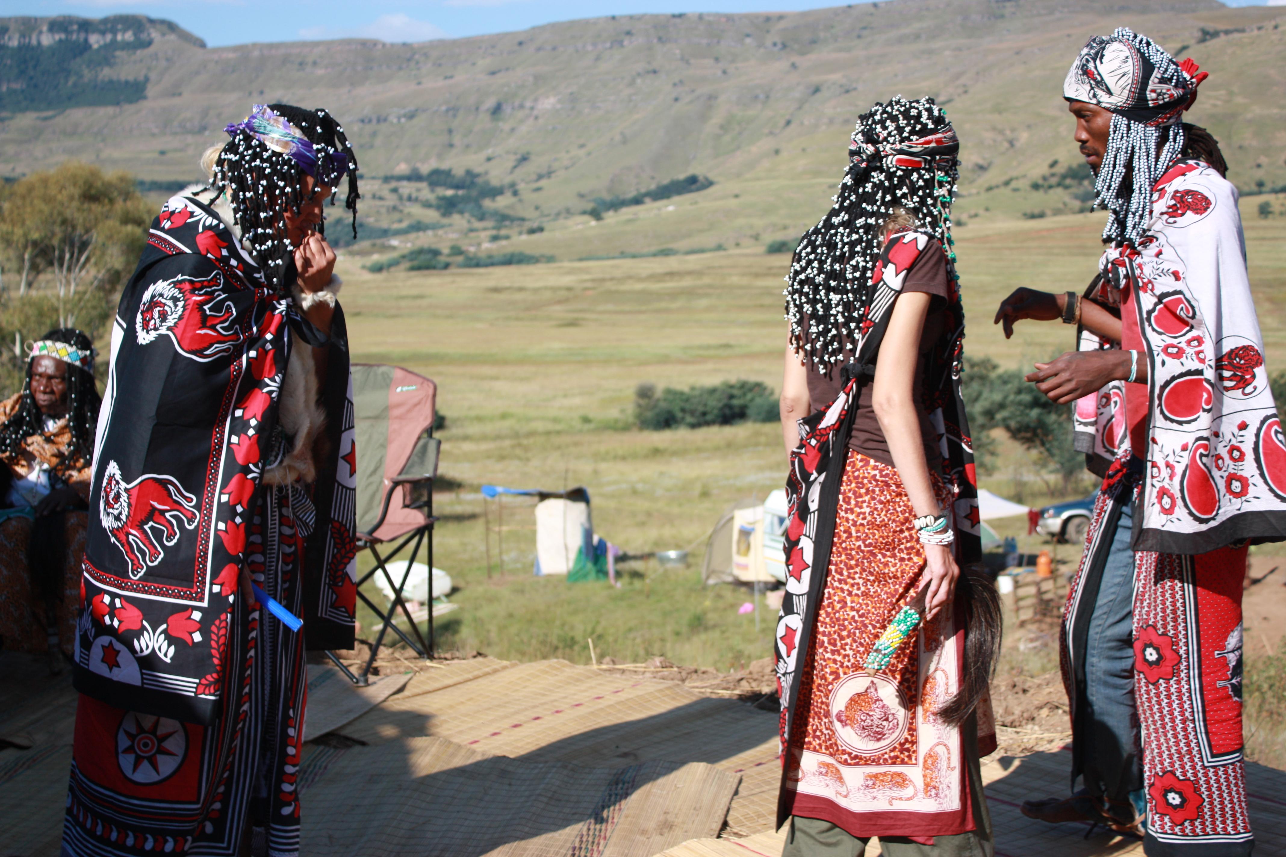 Znalezione obrazy dla zapytania african shaman