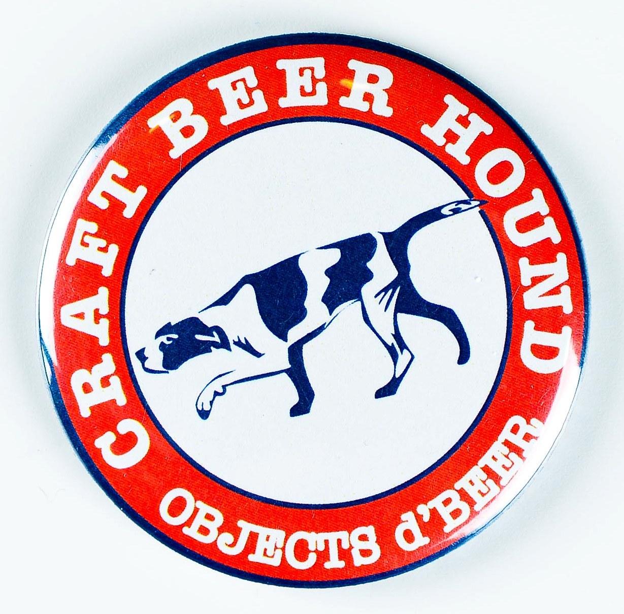Craft beer hound indiegogo for Craft beer typography beer cap shadow box beer cap collector