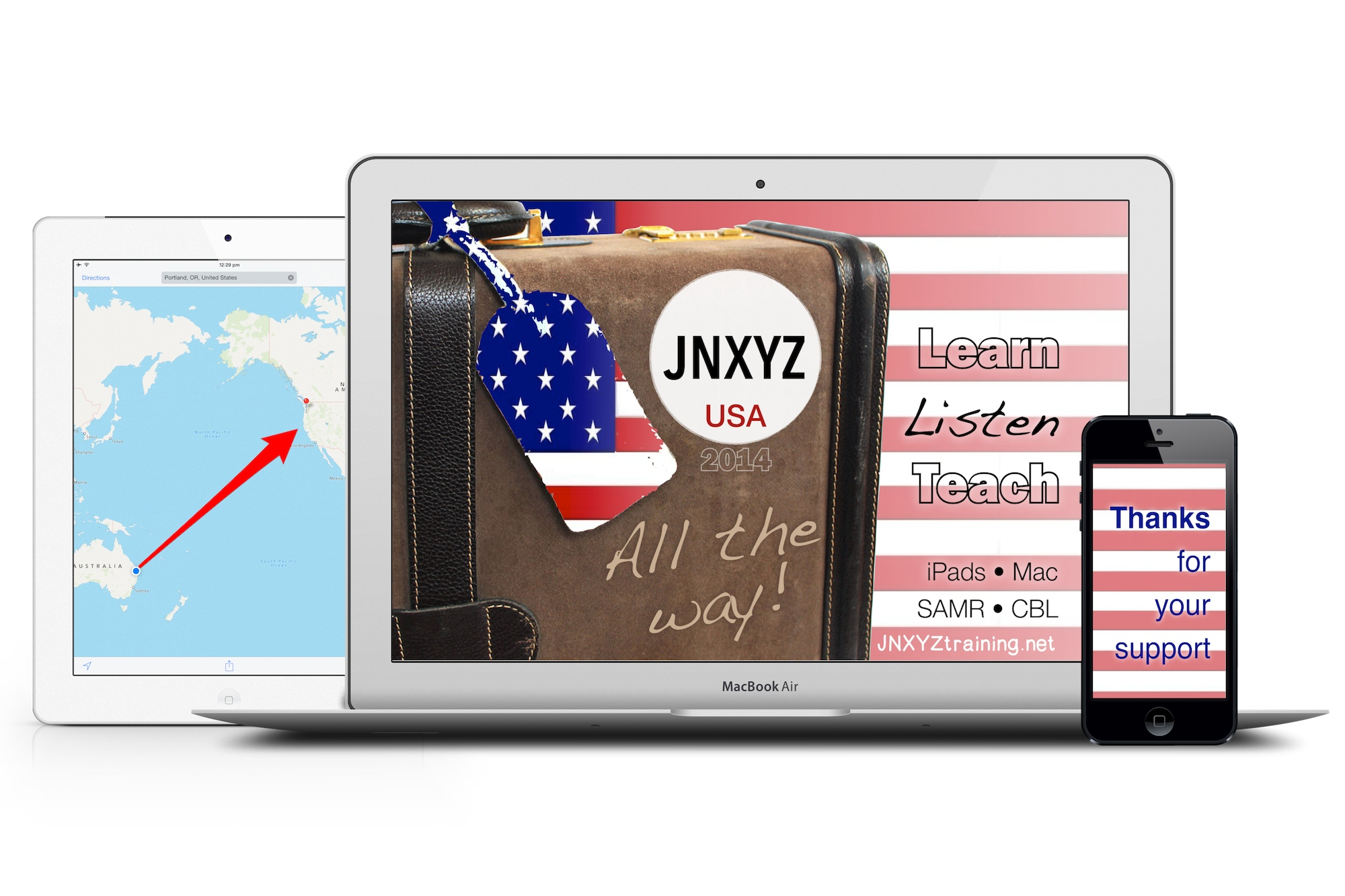 Listen, Learn, Teach: Get perks for you, & help JNXYZ go all the way to the USA!
