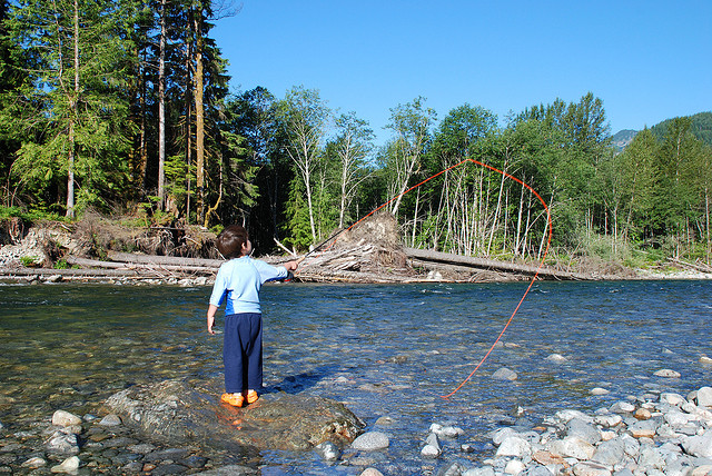 Support trails wildlife in the middle fork snoqualmie for Snoqualmie river fishing