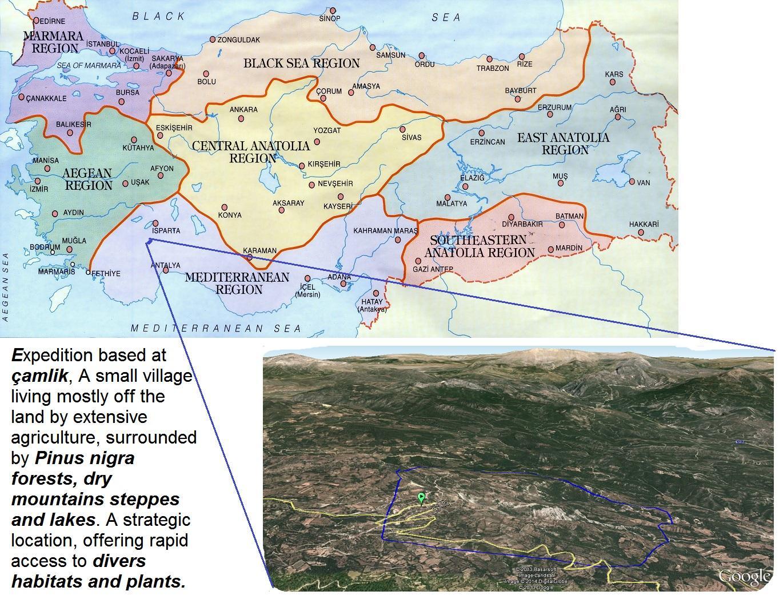 Taurus Mountains Map Location 67716 Usbdata