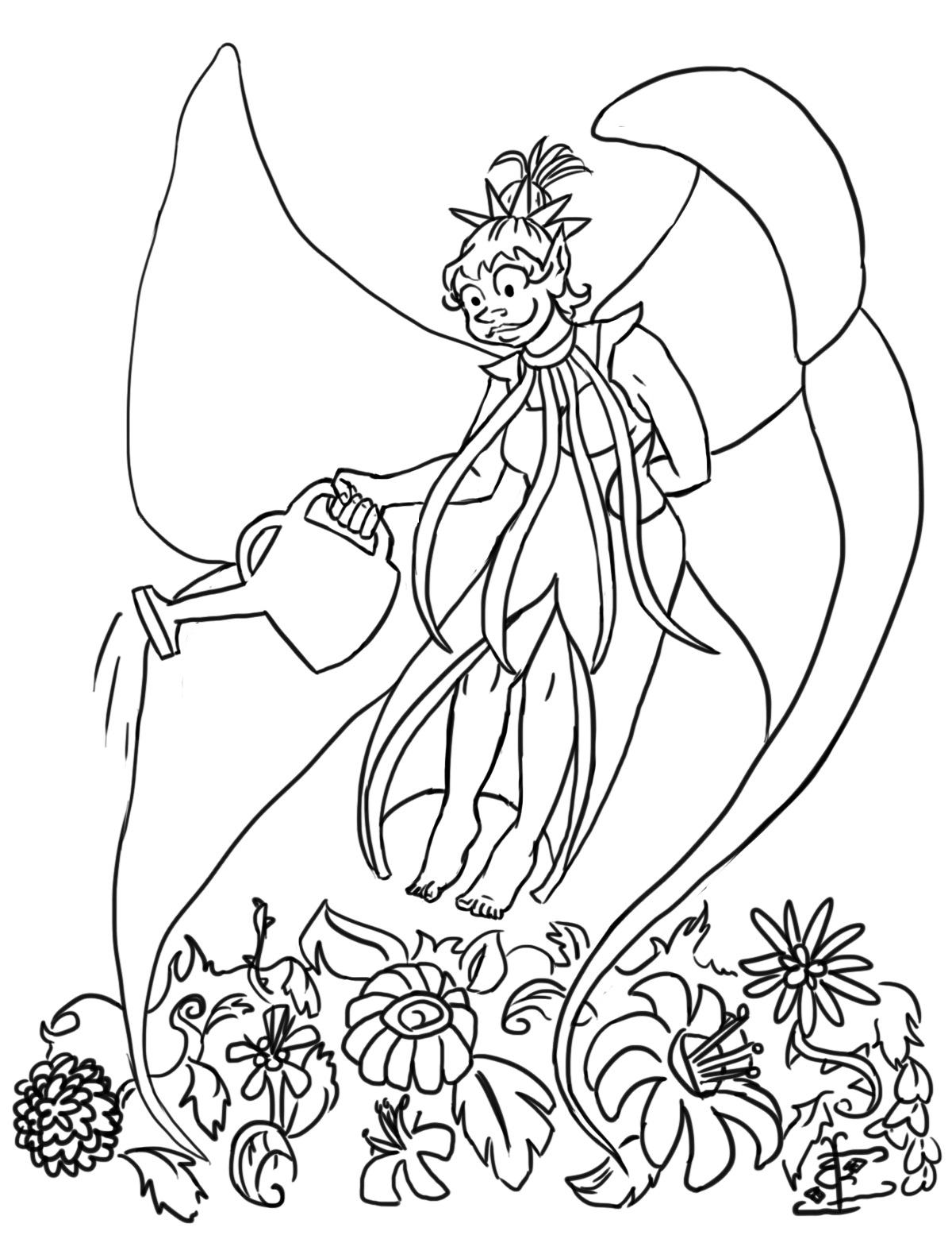 Design the Wings Coloring Book Fairies | Indiegogo