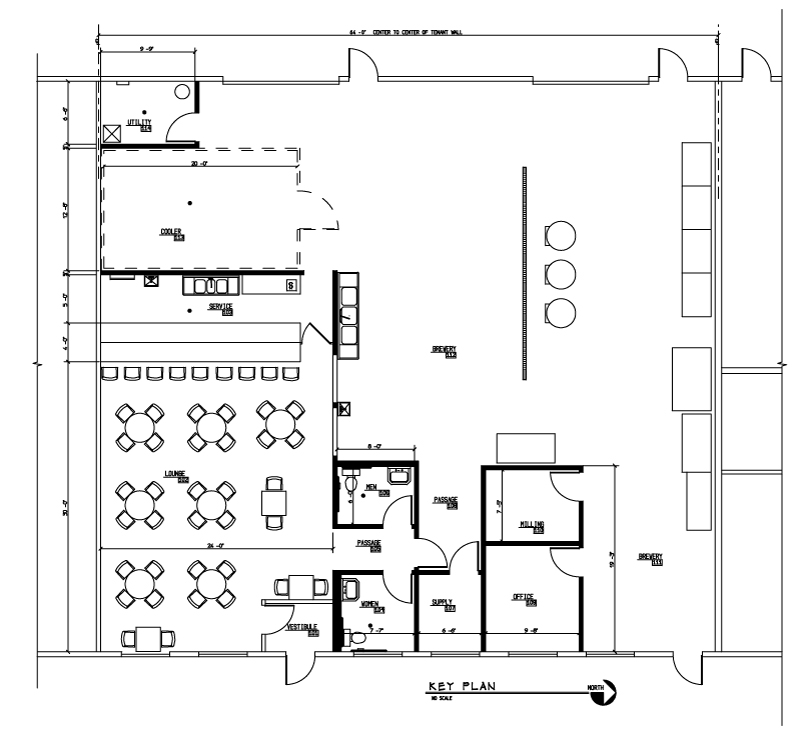 Cademon brewing co indiegogo for Brewery floor plan