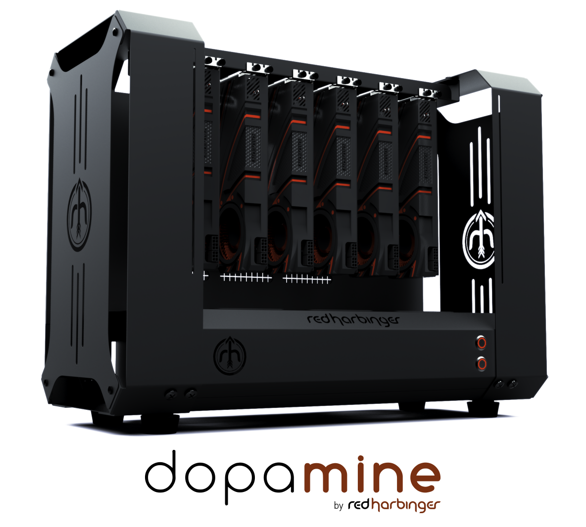 Dopamine Cryptocurrency Mining Case By Red Harbinger