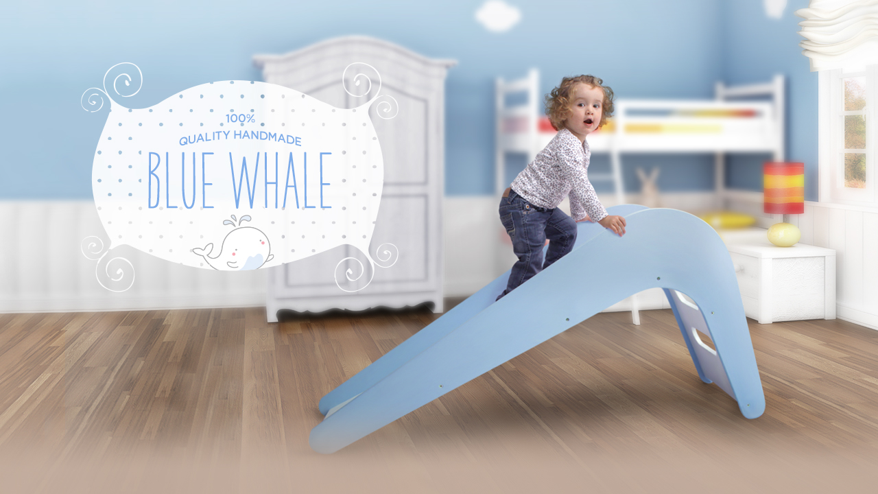 Jupiduu - The lovely kids slide made from wood | Indiegogo