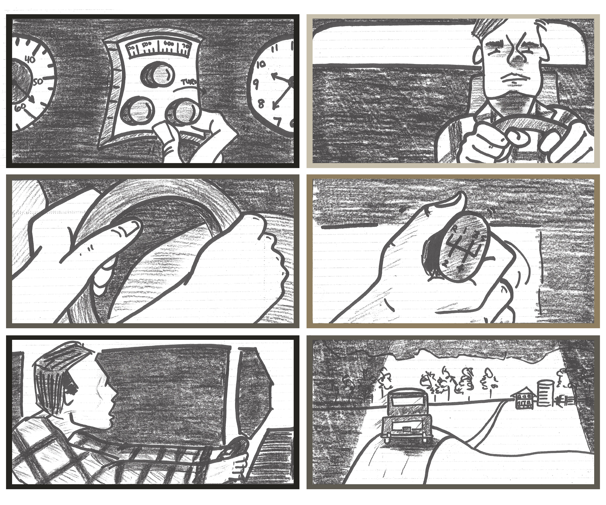 Creating A Storyboard For A Short Film.