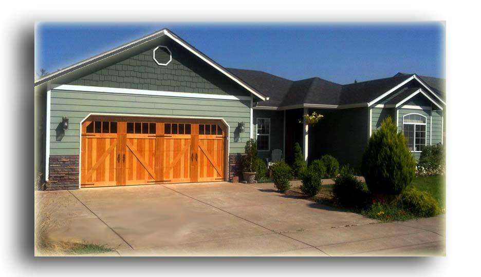 Until now for Garage door wood overlay