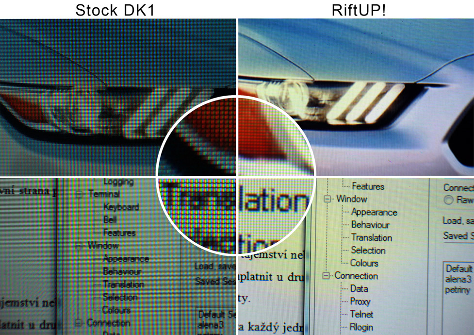 da58807be40 Comparison of DK1 and DK1 upgraded to 1080p with RiftUP!   oculus